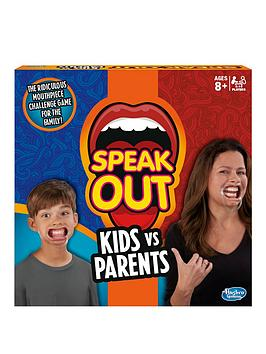 Speak Out Kids V Parents From Hasbro Gaming
