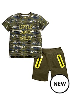 mini-v-by-very-mini-v-by-verynbspboys-little-amp-wild-tee-amp-short-set
