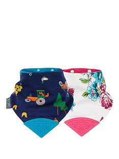 cheeky-chompers-joules-neckerchew-2pk-anna-floral-amp-reynards-farm