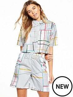 native-youth-native-youth-spectrum-print-boxy-shirt