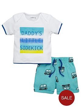 ladybird-baby-boys-daddy039s-sidekick-tee-and-short-set