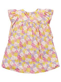 mini-v-by-very-toddler-girls-floral-pom-pom-frill-sleeve-dress