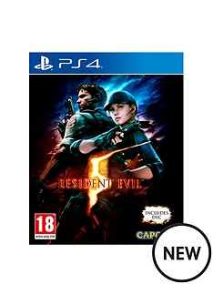 playstation-4-resident-evil-5-ps4