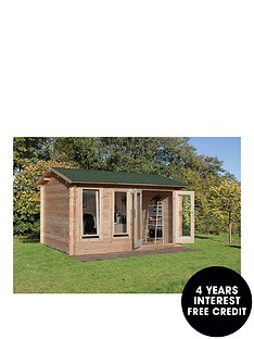 forest-4-x-3mnbspchiltern-34mmnbsplog-cabinnbspwith-optional-installation
