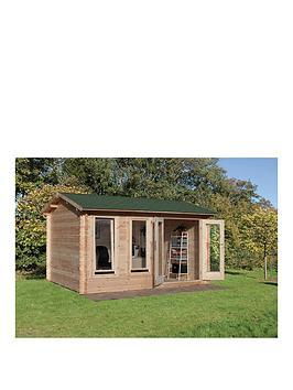 forest-4-x-3mnbspchiltern-log-cabinnbspwith-optional-installation