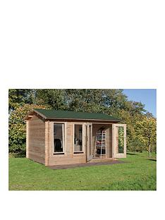 forest-4x3mnbspchiltern-34mmnbsplog-cabinnbspwith-optional-installation