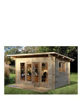 forest-4-x-3mnbspmelbury-44mm-log-cabinnbspwith-optional-installation