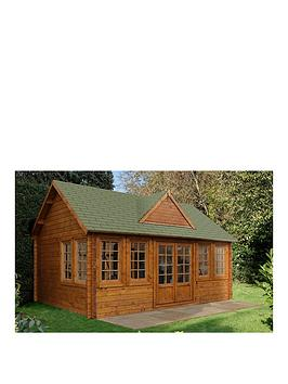 forest-55-x-4mnbspcheviot-log-cabinnbspwith-optional-installation