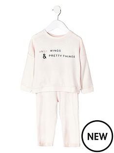 river-island-mini-girls-angel-wing-pyjama-set
