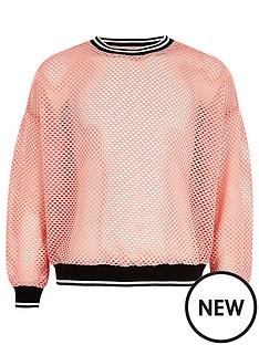 river-island-girls-pink-mesh-tipped-sweatshirt