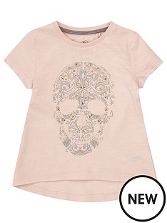 river-island-mini-mini-girls-pink-embellished-skull-t-shirt