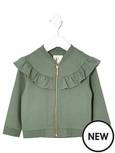 river-island-mini-girls-khaki-ruffle-jacket