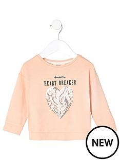 river-island-mini-mini-girls-peach-heartbreaker-sequin-jumper