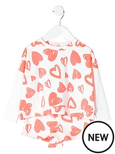 river-island-mini-girls-heart-print-sweatshirt-and-short-set