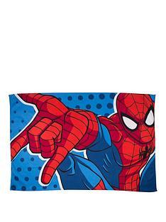 spiderman-webhead-polar-panel-fleece-blanket