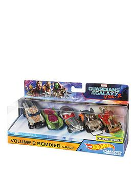 Hot Wheels Hot Wheels Guardians Of The Galaxy 5 Car Pack