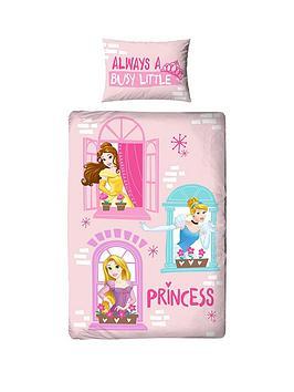 Disney Princess Disney Princess Boulevard Single Panel Duvet Set