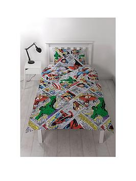 marvel-retro-comic-double-duvet-cover-set
