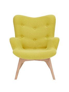 Very Papillion Contour Fabric Accent Chair Picture