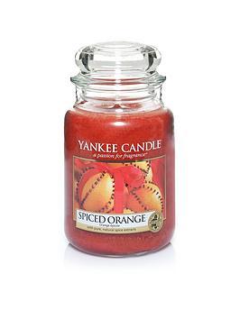 Yankee Candle Large Classic Jar Candle &Ndash Spiced Orange