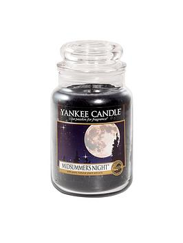 Yankee Candle Yankee Candle Large Classic Jar Candle &Ndash; Midsummers  ... Picture