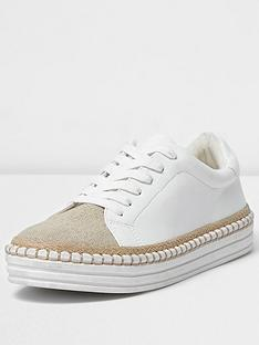 river-island-river-island-lace-up-espadrille-trim-trainer