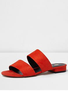 river-island-two-strap-flat-mule
