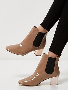 river-island-river-island-rixley-chelsea-boot-gold-heel