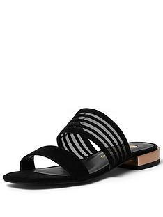 river-island-2-strap-flat-mule-sandal