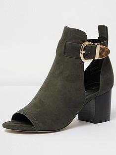 river-island-buckle-shoeboot