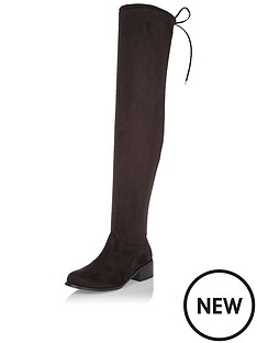 river-island-river-island-fries-over-the-knee-flat-boot