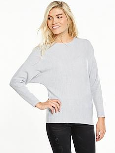 v-by-very-rib-batwing-jumper