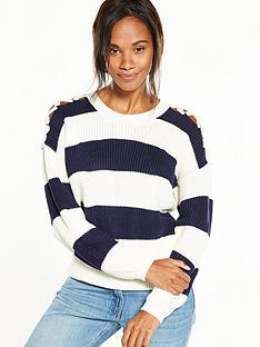 v-by-very-tie-shoulder-stripe-jumper-stripe