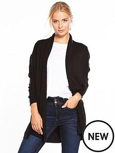 v-by-very-shawl-collar-rib-cardigan