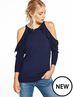 v-by-very-cold-shoulder-ruffle-jumper