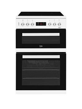 Beko Kdc653W 60Cm Electric Cooker With Ceramic Hob  White