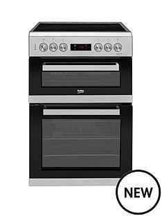 beko-kdc653s-60cm-electric-cooker-with-ceramic-hob-silver