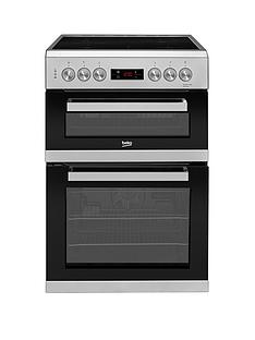 beko-kdc653s-60cm-electric-cooker-with-ceramic-hob-and-connection-silver