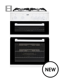 beko-kdg611w-60cm-gas-cooker-with-full-width-gas-grill-and-connection-white