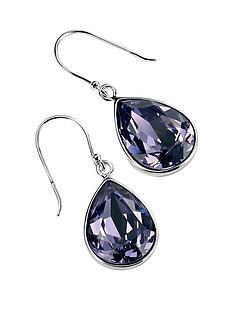 elements-silver-elements-sterling-silver-tanzanite-swarovski-crystal-teardrop-earring