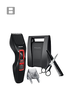philips-series-3000-hair-clipper-hc342083-corded-amp-cordless-use-with-comb-amp-scissors