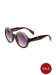 v-by-very-round-floral-frame-festival-sunglasses