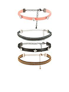v-by-very-aztec-4-pk-choker-set