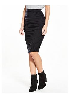 v-by-very-ruched-jersey-midi-skirt