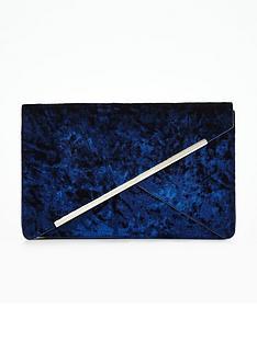 v-by-very-diagonal-bar-clutch-bag