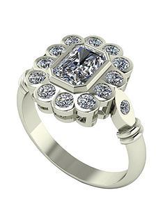 moissanite-9ct-gold-7x5-radiant-centre-antique-cluster-ring
