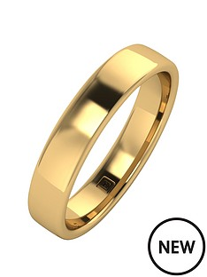 9ct-gold-premier-collection-4mm-heavy-weight-wedding-band