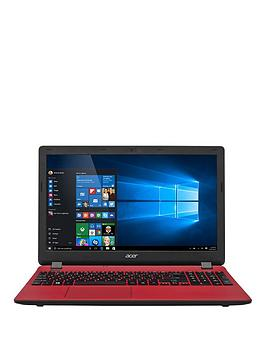 Acer Aspire Es 15 Intel&Reg Pentium&Reg Processor 4Gb Ram 1Tb Hard Drive 15.6 Inch Laptop With Optional Microsoft Office 365 Home  Red  Laptop Only