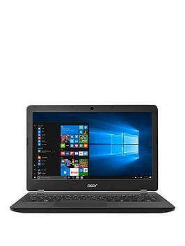 Acer Aspire Es 13 Intel&Reg Celeron&Reg 4Gb Ram 32Gb Storage 13.3 Inch Laptop With Optional Microsoft Office 365 Home  Black  Laptop Only