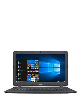 Acer Aspire Es 17 Intel&Reg Pentium&Trade Quad Core Processor 8Gb Ram 1Tb Hard Drive 17.3 Inch Laptop With Optional Microsoft Office 365 Home  Black  Laptop With Microsoft Office 365 Home
